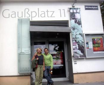 Uschi und Dieter Schreiber, Gaussplatz 11