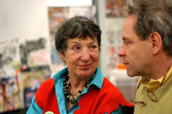 Linde Waber und Dieter Schreiber