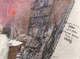 Hans Huyssen – Südafrika, Atelierzeichnung 2