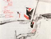 Tetsuo Yoneda – Japan, Atelierzeichnung 1