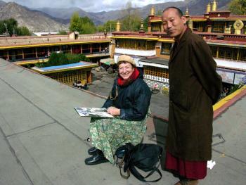Tibet Zahji Tempel