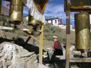 Tibet um Tashilunpo