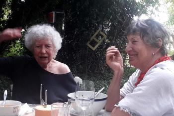 Lotte Ingrisch und Linde Waber