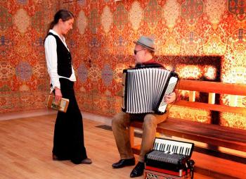 Anne Bennent und Otto Lechner