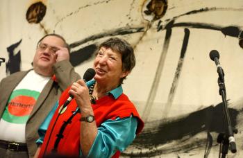 Alois Kinast und Linde Waber