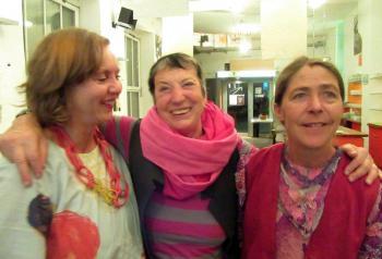 Uschi Schreiber, Linde Waber und Anne Bennent